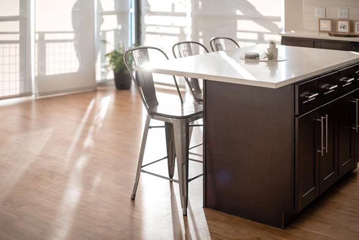 Multifamily marketing interior apartment shot