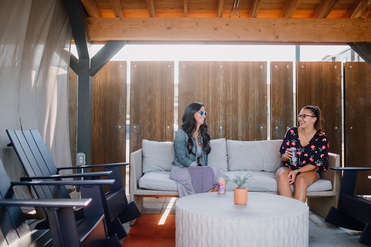 Maddie apartment marketing - photo shoot