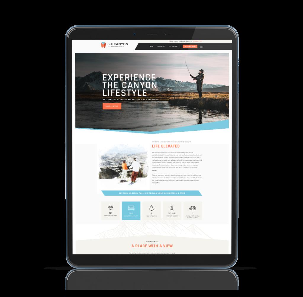sixcanyon-website-mockup-tablet