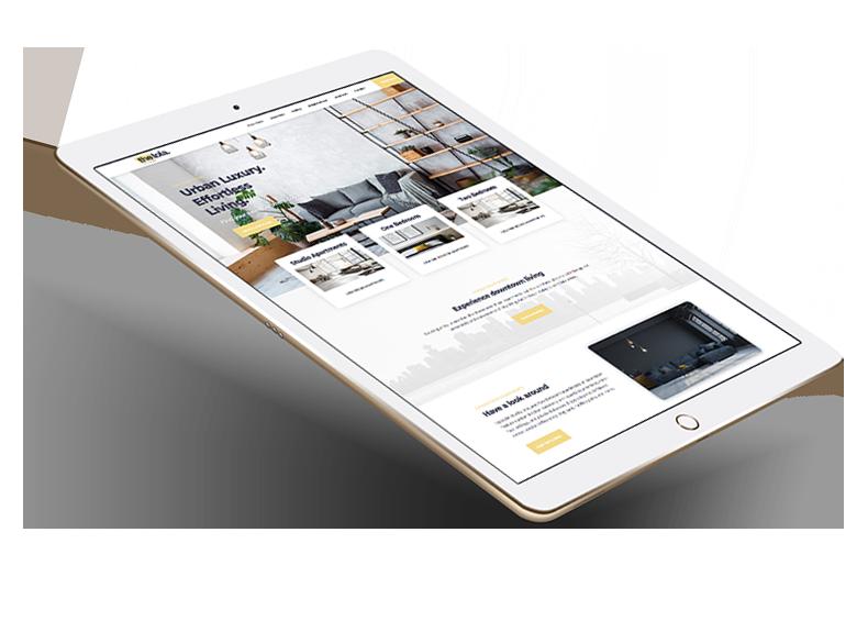 apartment web design
